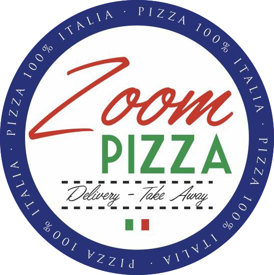 Logo central de zoom pizza